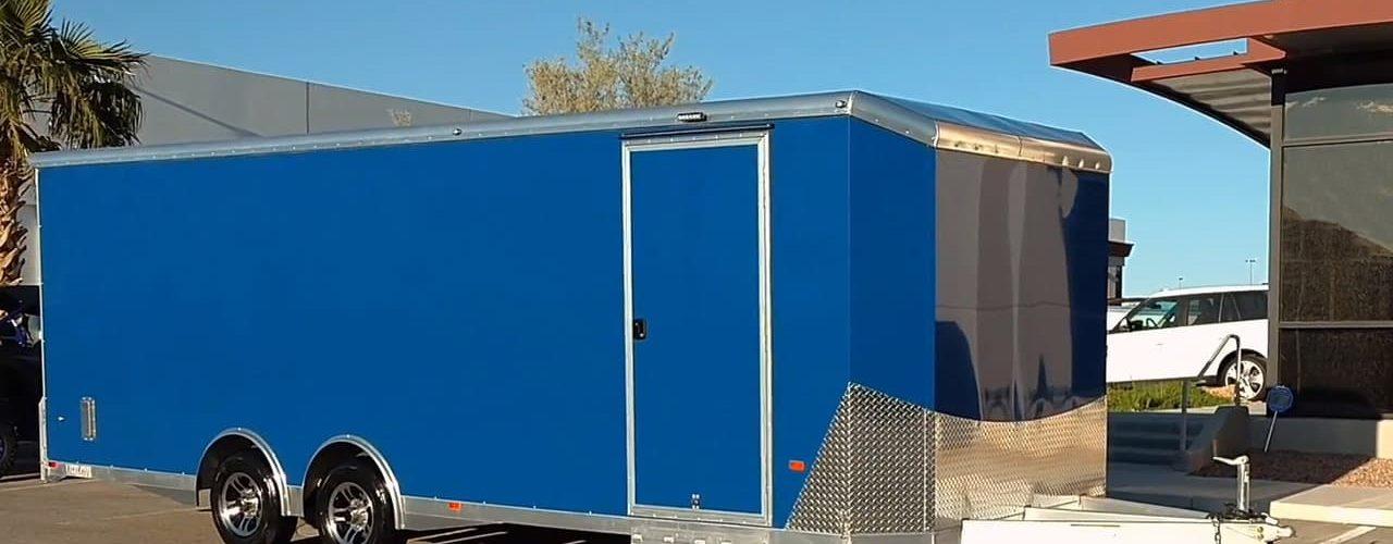 Best enclosed car trailer
