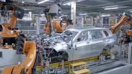 PRODUCTION LINE car