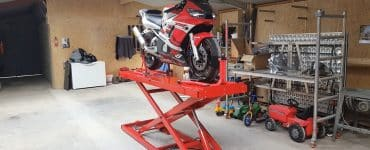 DIY Motorcycle lift