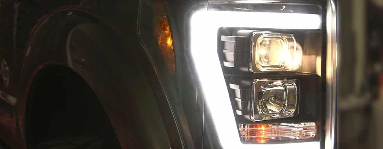 F250 Headlights