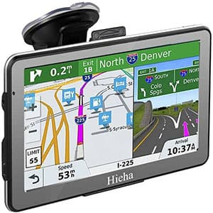 Hieha GPS Navigation Systems for Car Truck RV Vehicles 7″