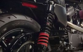 Motorcycle air ride system