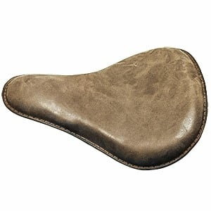 Retro Brown Motorcycle Soft Leather Seat