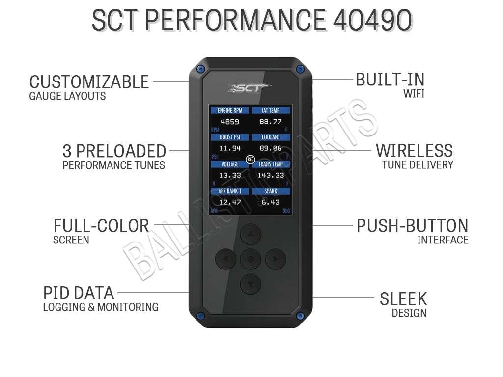 SCT Performance 40490
