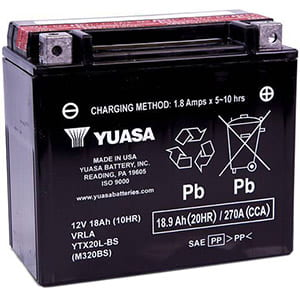 Yuasa YUAM320BS YTX20L-BS