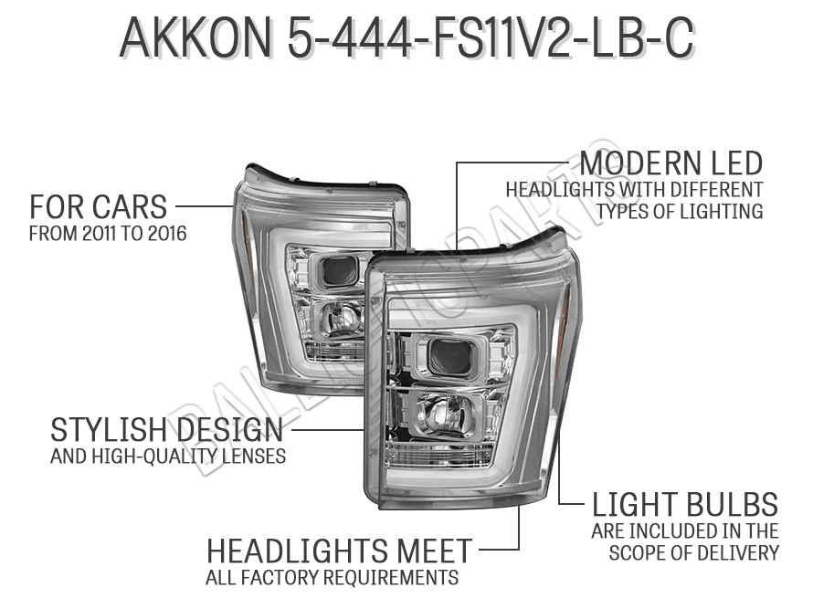 AKKON 5-444-FS11V2-LB-C