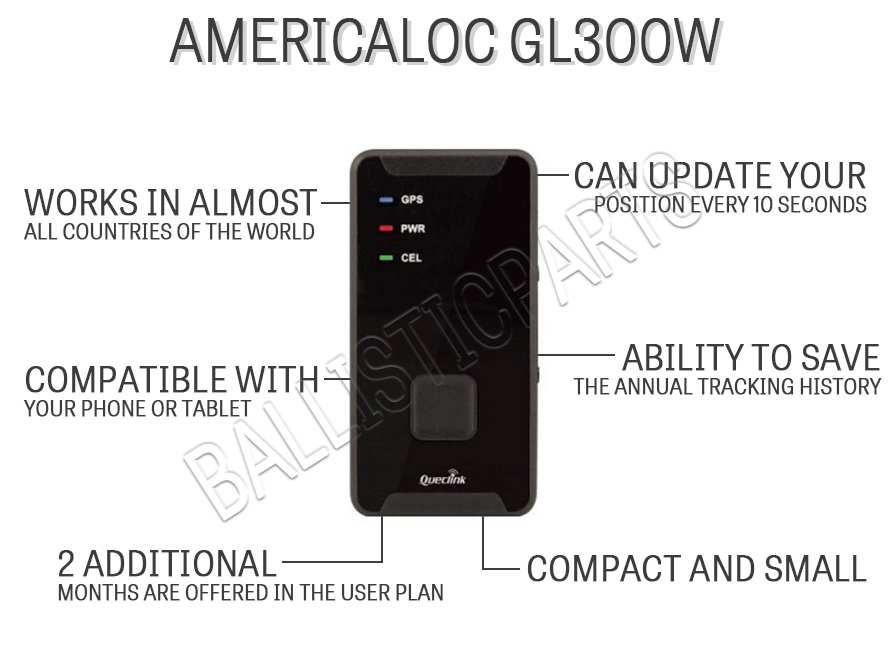 AMERICALOC GL300W