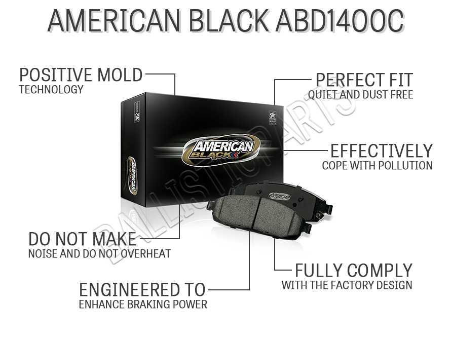 American Black ABD1400C