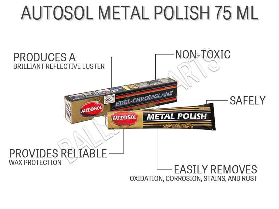 Autosol Metal Polish 75 ml