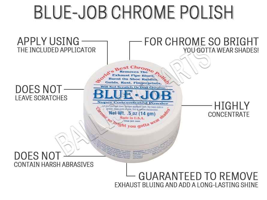 Blue-Job Chrome Polish