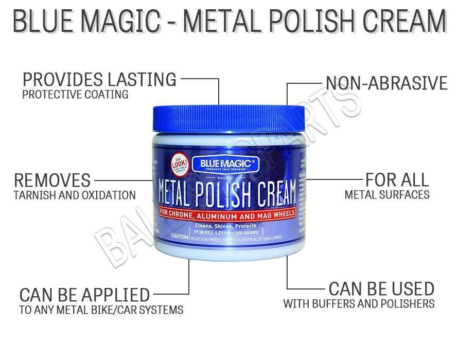 Blue Magic - Metal Polish Cream