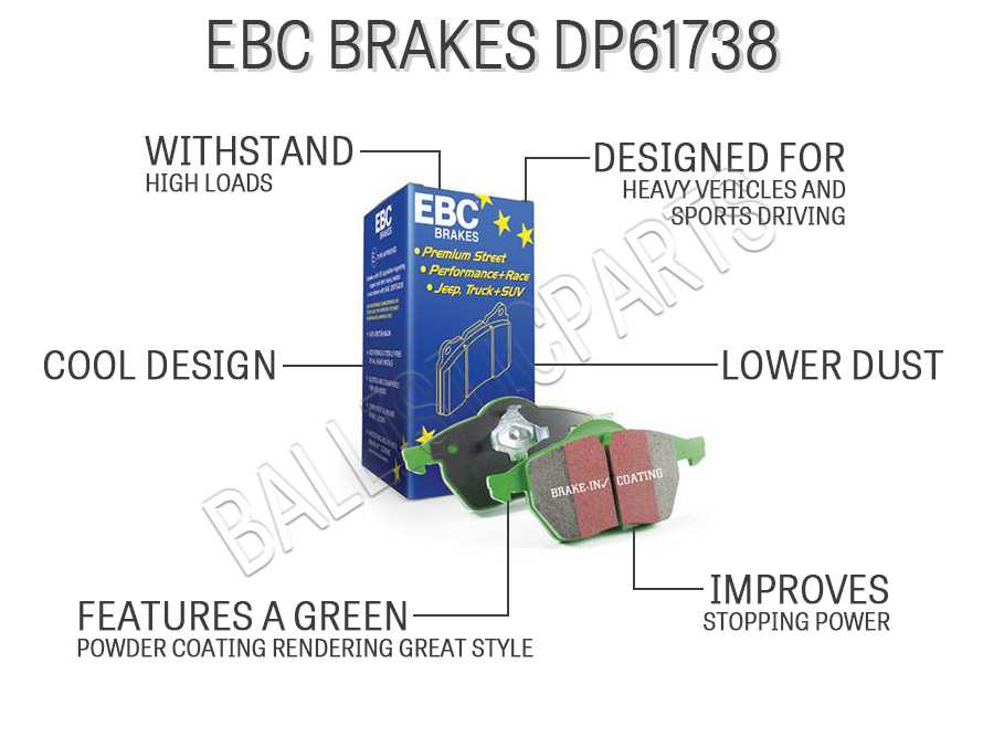EBC Brakes DP61738