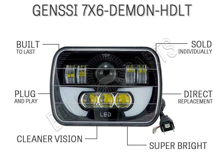 Genssi 7X6-DEMON-HDLT