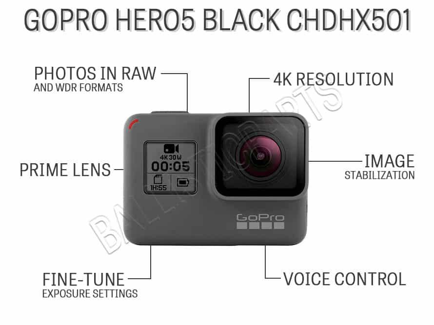 GoPro Hero5 Black CHDHX501