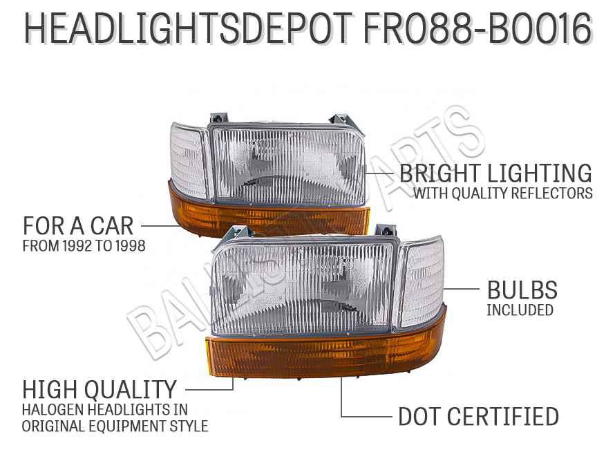 HEADLIGHTSDEPOT FR088-B0016