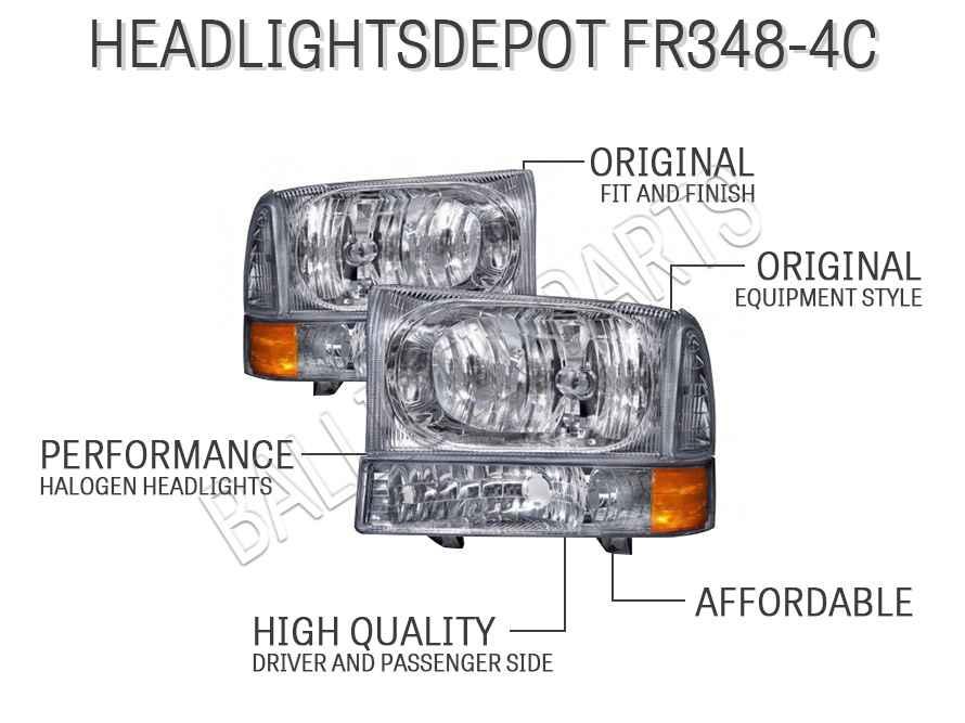 HEADLIGHTSDEPOT FR348-4C