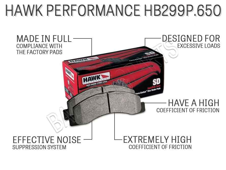 Hawk Performance HB299P.650