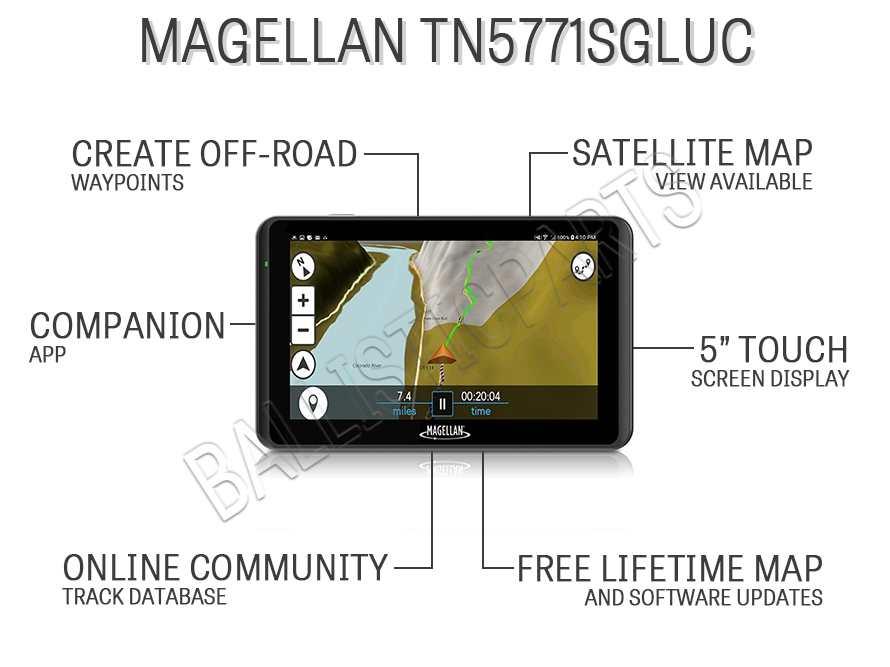 Magellan TN5771SGLUC