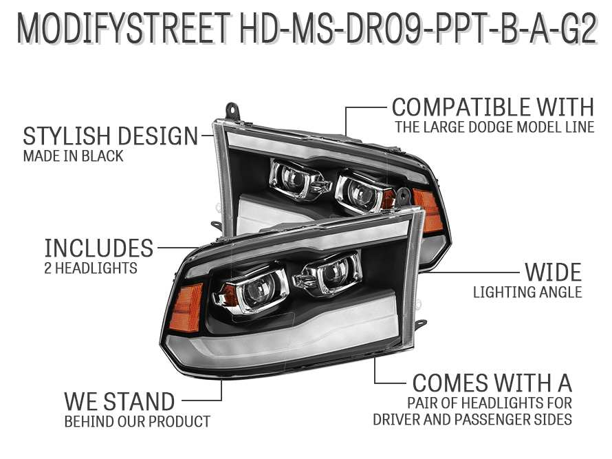 ModifyStreet HD-MS-DR09-PPT-B-A-G2