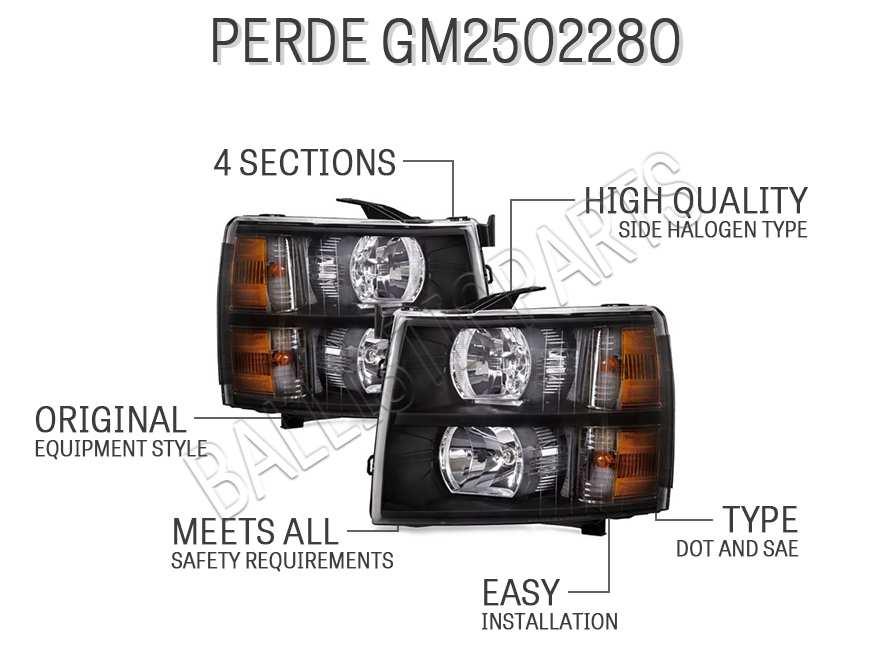 PERDE GM2502280