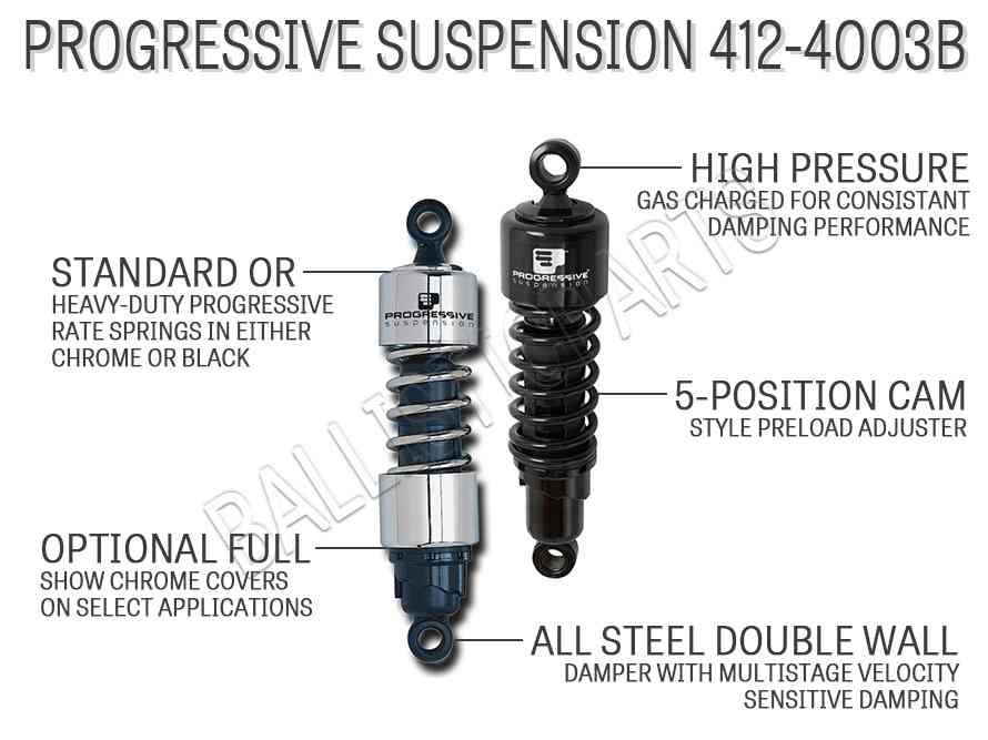 Progressive Suspension 412-4003B