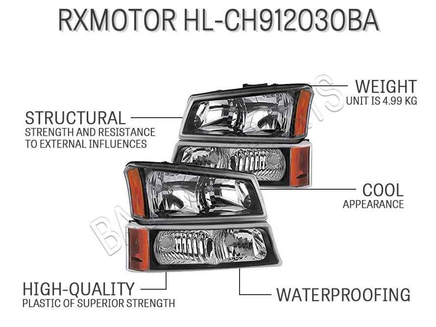 RXMOTOR HL-CH912030BA