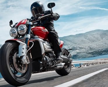 the Triumph Rocket