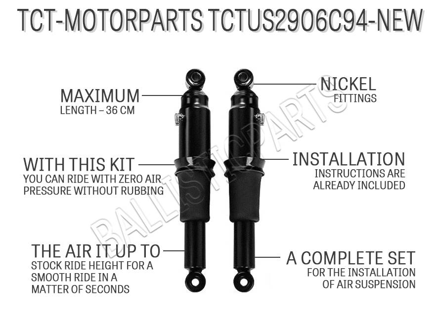 TCT-MOTORPARTS TCTUS2906C94-NEW