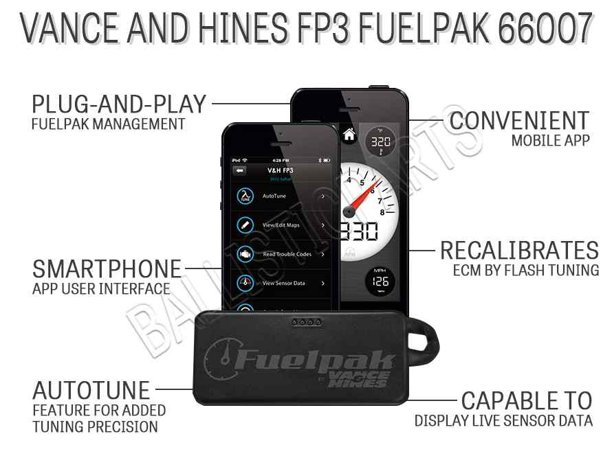 Vance and Hines FP3 Fuelpak 66007