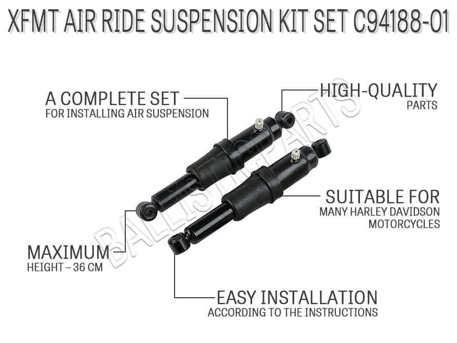 XFMT Air Ride Suspension Kit Set C94188-01